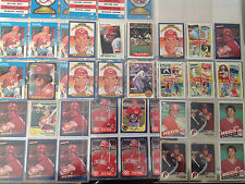 Baseball Cards Collection of Pete Rose - Lot of 47 1977-1987 Topps Fleer Donruss