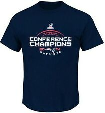 New England Patriots 2014 Conference Mens Navy Blue T Shirt Big & Tall Sizes