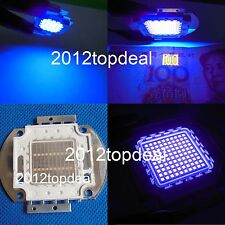 3w 5w 10w 20w 30w 50w 100w UV Ultra Violet High power LED Chip 395nm F Aquarium