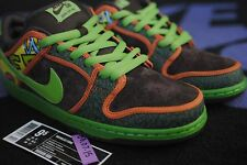 DS NIKE DUNK HIGH LOW SB DE LA SOUL RETRO LOW TOP SIZE 9.5 SIZE 10 2015