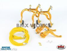 Dia-Compe Gold MX890 with MX121 (Tech 3) Levers Package Old School BMX Mongoose