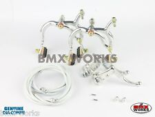 Dia-Compe Silver MX890 with MX121 (Tech 3) Lever Package Old School BMX Mongoose