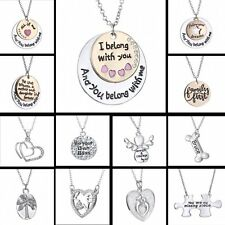 Fashion Inspiration Love Letters Pendant Friends Family Necklace Chain Jewelry