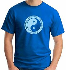 T-Shirt Sport TAM0154 Arti Marziali Karate Yin Yang Respect Honor Integrity