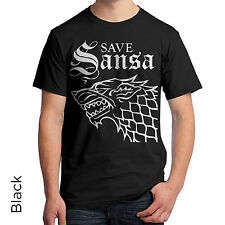 T-Shirt Save Sansa Game of Thrones Very Cool TV show Hot Men's Women's 91