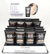 City Color BB Cream - Paraben Free with Vitamin E- Available in 4 Shades