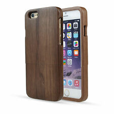 """Natural Handmade Real Wood Wooden Hard Case Cover For iPhone 6 4.7"""" / Plus 5.5"""""""