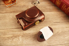 New Leather Camera Case Bag Cover for Canon PowerShot SX700 HS
