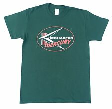 Kiekhaefer Mercury Vintage Style Outboard Motor Shirt Retro Nautical Green
