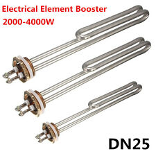 Electrical Element Booster Stainless Steel For Water Heater DN25 2000/3000/4000W