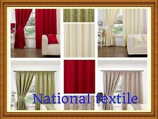 Trieste Fully Lined Curtains Inc Tie Backs - 4 Colours - By Hamilton McBride