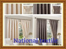 Monaco Fully Lined Curtains-2 Colours-Accessories Available-By Hamilton McBride