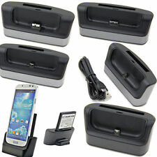 USB Dual Cradle Dock Charger Battery Charge Sync for Samsung Galaxy S5S4Note 432