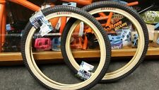 Odyssey Mike Aitken BMX Tire 20x1.90*Street* Black/Tan Wall** OLD SCHOOL**SALE*