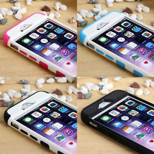 For iPhone 6 / iPhone 6 Plus Rubber Hybrid Armor Impact Defender Skin Case Cover