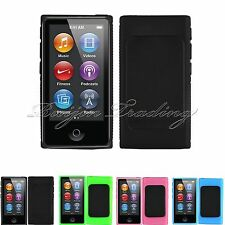 Slim TPU Clip Gel Case For New Apple iPod Nano 7th Generation Cover Shell