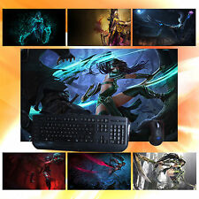 LOL Fist of Shadow Akali Keyboard Mouse Pad Large Play Mat for League of Legends