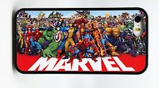 NEW MARVEL SUPERHEROES BLACK PHONE CASE COVER FOR IPHONE 6 6 PLUS 5 5S 5C 4 4S