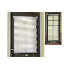 Magnetic Window Blinds Easy Install White Steel Door Cover Privacy Free Shipping