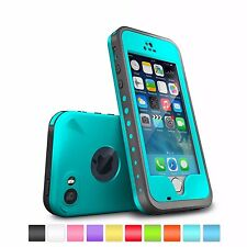 2015 Waterproof Shockproof Fingerprint Scanner Case Cover for Apple iPhone 5S 5