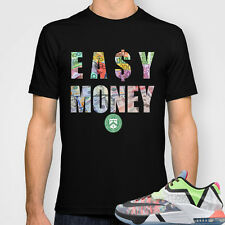 Stay Hungry Co. EA$Y MONEY T- MORE COLORS  (sneaker tees, kobe 10, wtkd 7)