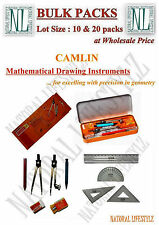 Camlin Exam Mathematical Drawing Instruments 10 pieces Geometry Box Wholesale