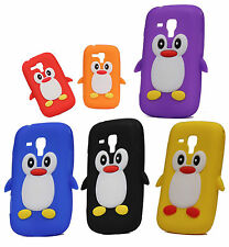 Penguin Silicone Jelly Back Case Cover FOR SAMSUNG GALAXY S DUOS ( S7562)