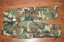 NWT! US ARMY USMC GORETEX ECWCS Ext Cold Weather Pants Trousers Woodland Camo MR
