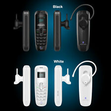 Mini Decwin A20 Tiny Headphone Unlock GSM Mobile Phone Dialer Bluetooth Headset