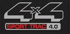 Explorer Sport Trac 4 x 4 Emblem Sticker Decals