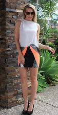 Womens Sexy High Fashion Mini Skirt Slim Seamless Stretch Tight Short Fitted