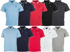 New Mens Gio Goi Tip Polo Shirt Top Cotton Causal Summer