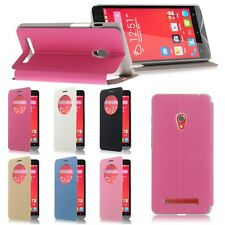 Flip Cover Custodia Portafogli Circle Window View Case per Asus ZENFONE 5
