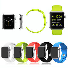 Silicone Strap Bracelet Band Replacement For Apple Watch Edition Sport 38mm/42mm