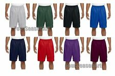 A4 Mens 9 Inch Inseam Mesh Short Athletic Gym XS S M L XL 2XL 3XL 4XL N5296