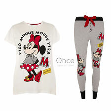 Primark DISNEY MINNIE MOUSE 1928 T-shirt & lounge pants Pyjama PJ's