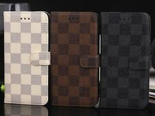 Luxury Fashion Deluxe Leather Wallet Flip Case Cover For Apple iPhone 6/6 Plus