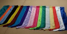 20 Elvis ETA's satin Jumpsuit scarves17 colors scarf, . IN STOCK  Ready to ship