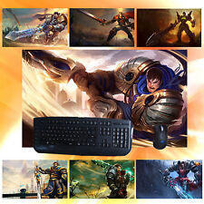 LOL Might of Demacia Garen Keyboard Mouse Pad New Play Mat For League of Legends