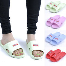 Summer Casual Women' Home Shower Shoes Slip On Sandals Beach Flip Flops Slippers