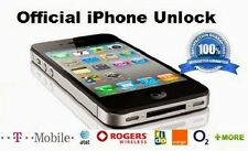 Factory Unlock Service Iphone AT&T TMOBILE Verizon Clean Blacklisted bad  lot