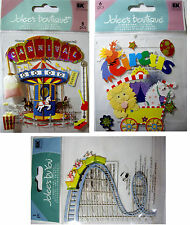 NEW CARNIVAL - CIRCUS - ROLLER COASTER * Your Choice * Fun   JOLEE'S 3D Stickers