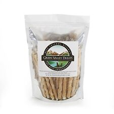 """Chicken Wrapped Rawhide Natural Dog Treats, Made in USA, 5"""" Long Sticks"""