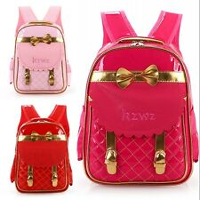 LOLITA PRINCESS BOW BOOKBAG FOR GIRLS RED/ROSE/PINK  BACKPACK Back To School