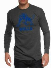 Buffalo SUNY Bulls Mens Long Sleeve Thermal Shirt Logo Design