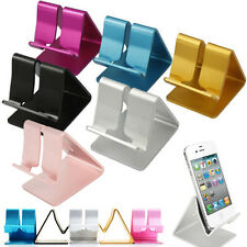 Aluminum Cell Phone Desk Stand Holder Mini for Universal Mobile Phones Table PC