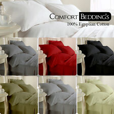 OFFER Hotel Collection 15 Color Flat Sheet 1000TC 100% Egyptian cotton Solid