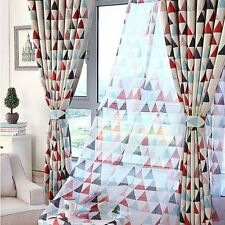Moroccan TRIANGLE:Nordic Style Blockout Curtains Ikea Style Blackout Custom made