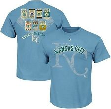 Kansas City Royals Majestic League Domination Men's Shirt Big & Tall Sizes