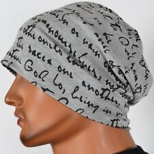Men Thin Beanie Slouchy Baggy Hip-hop Cap Skull Hat Summer Light Unisex B078-1